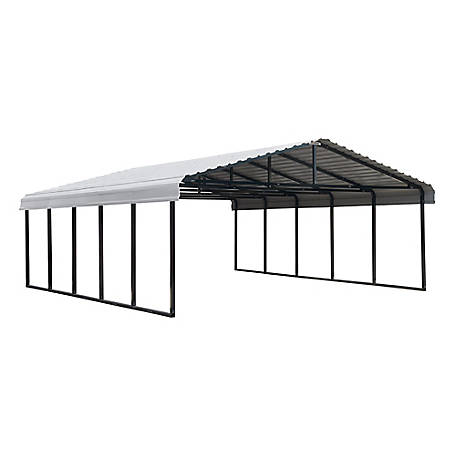 Arrow Carport 20 x 24 Charcoal, CPHC202407