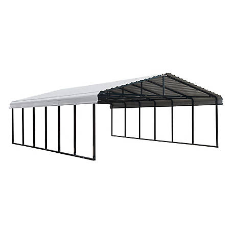 Arrow Carport 20 x 29 Charcoal, CPHC202907