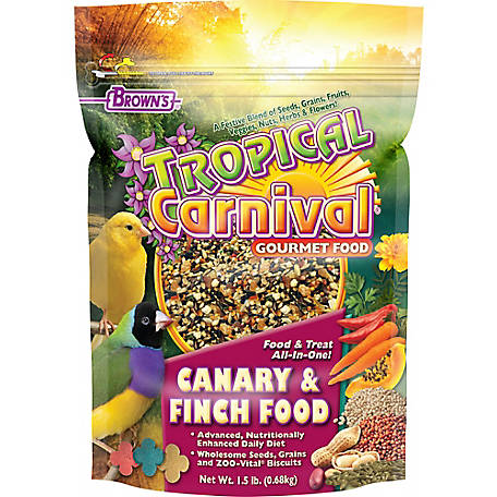 Tropical Carnival Canary Finch 1.5 lb., 44728