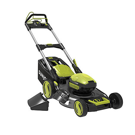 Sun Joe 100-Volt iONPRO 21 in. Cordless Lawn Mower - Tool Only, ION100V-21LM-CT
