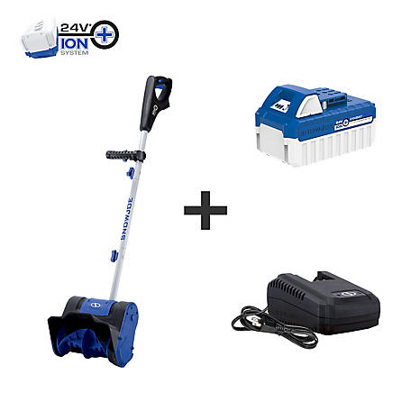Snow Joe 24V 4Ah 10 In. Cordless Snow Shovel, 24V-SS10
