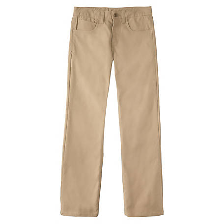 Carhartt Boy's Canvas 5 Pocket Pant, CK8373