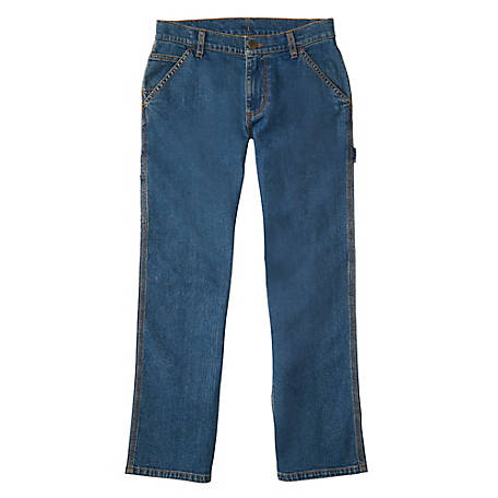 Carhartt Boy's Denim Dungaree Pant, CK8383