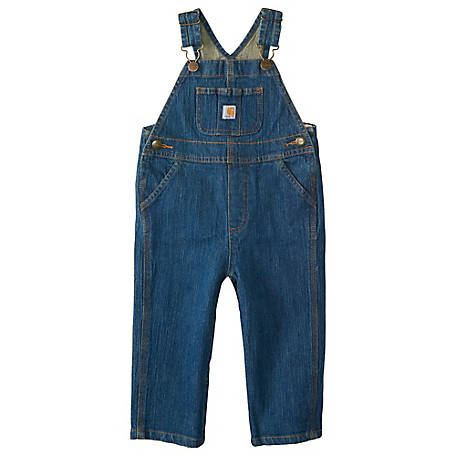 Carhartt Infant Boy's Denim Bib Overall, CM8665