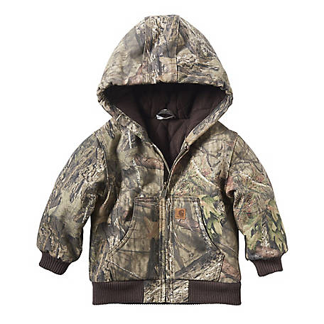 Carhartt Infant Boy's Mossy Oak Camo Active Jacket, CP8536