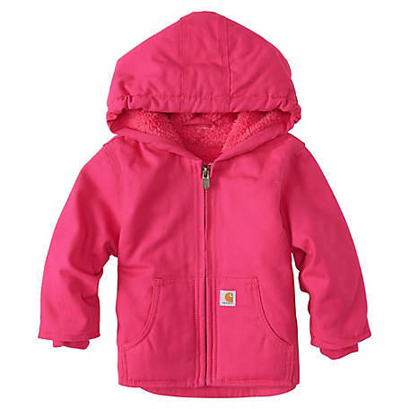 Carhartt Infant Girl's Redwood Jacket, CP9534-P281