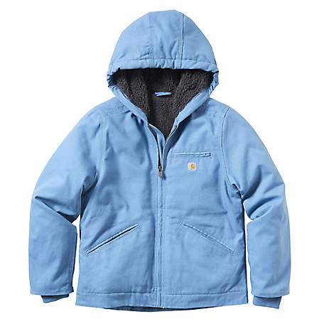 Carhartt Girls' Girls Lined Sierra Jacket, CP9547
