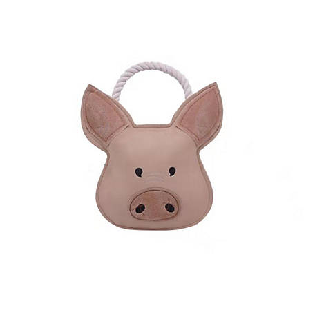 MuttNation Fueled by Miranda Lambert 11 Inch Pig Leather Head, XXG190426111A