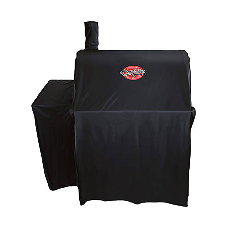 Char-Griller Pro Deluxe Charcoal Grill Cover, 5555