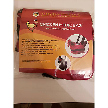 Shady Dale Funny Farm Poultry Products Chicken Medic Bag, CM002