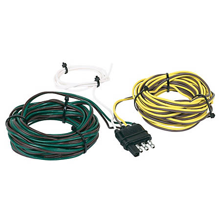 Hopkins Towing Solutions 4 Wire Flat Y-Harness, 20 ft., 48245