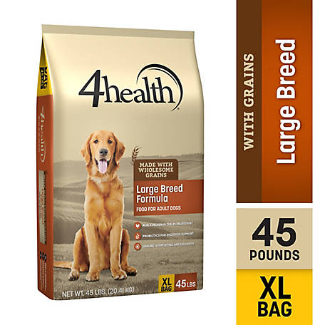 4health Original Large Breed Formula Adult Dog Food, 45 lb. Bag