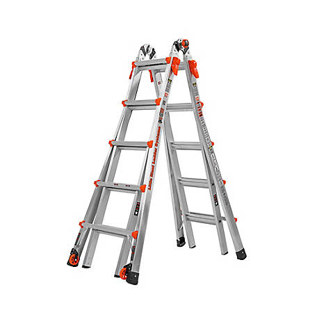 Little Giant LT LT-22 Type IA-300 lb. Al Ladder, 14322-001