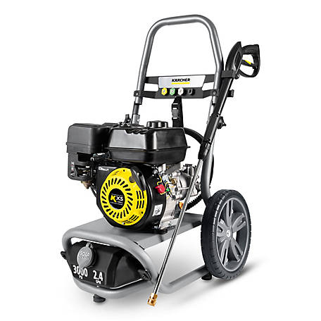 Karcher G 3000 x 3000 PSI Gas Pressure Washer, 1.107-385.0