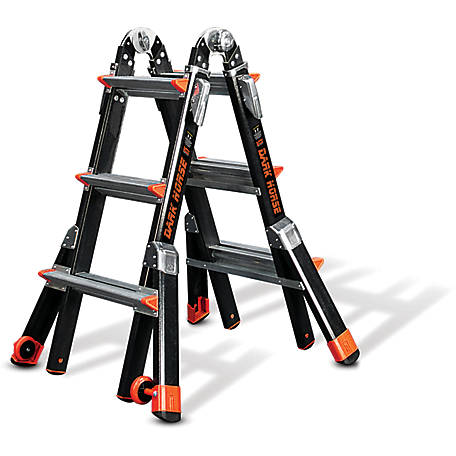 Little Giant Dark Horse 13-Type IAA-375 lb. Ladder, 15143-001