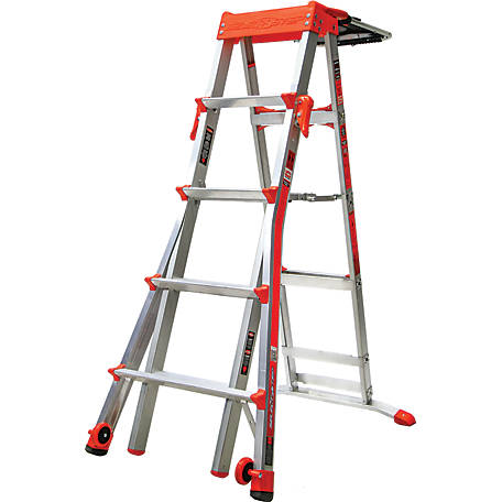 Little Giant Select Step 5-8 Type IA Aluminum Stepladder, 15125-001