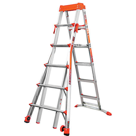 Little Giant Select Step 6-10 Type IA Al Stepladder, 15109-001