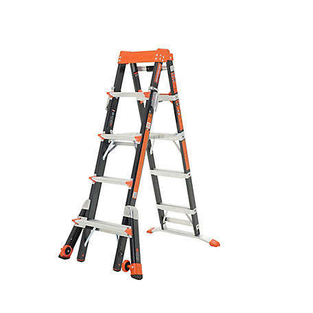 Little Giant Select Step 5-8 Type IAA Fiber Glass Stepladder, 15130-001