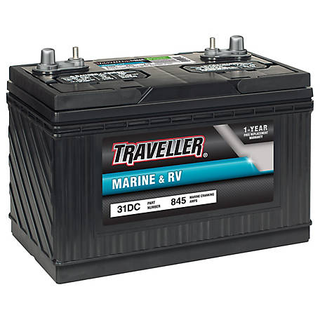 Traveller Marine & RV Battery, 31DC
