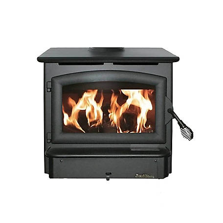 Buck Stove Model 21 Wood Stove with Black Door, FP 21