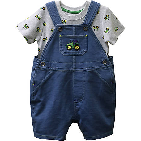 John Deere Infant Boy's Overall T Set, J1S533BFT