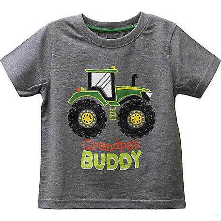 John Deere Toddler Boy's Tee Gpa Buddy, J1T541HTT