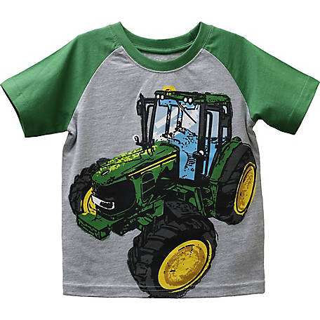 John Deere Toddler Boy's Tee Big Tractor, J1T544HTT