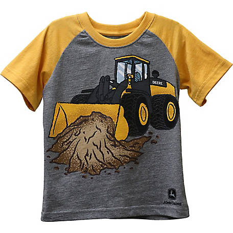 John Deere Boys' Toddler Boy's Front Loader Tee Shirt, J1T545HTT