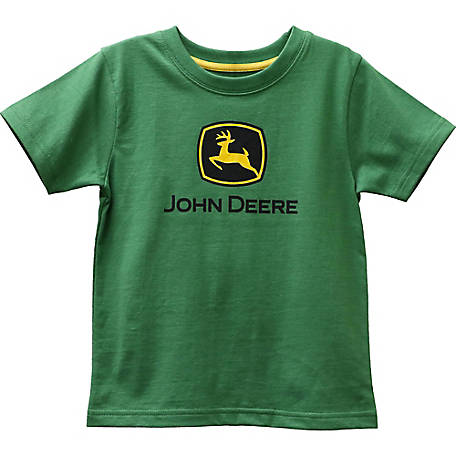 John Deere Boys' Toddler Boy's Logo Tee Shirt, JST001GTT