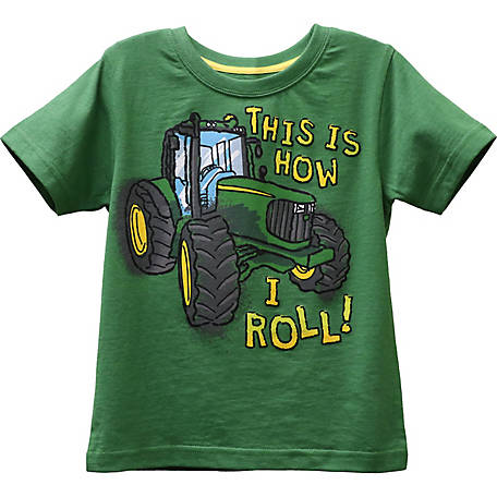 John Deere Toddler Boy's Tee How I Roll, J1T540GTT