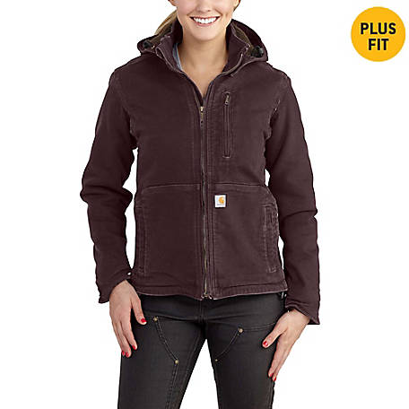 Carhartt Women's Full Swing Caldwell Stretch Sandstone Jacket