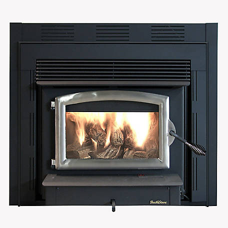 Buck Stove Model ZC74 with Pewter Door, FP ZC74P