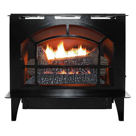 Buck Stove Townsend Black Natural Gas, NV S-TOWNSEND BLK-NG