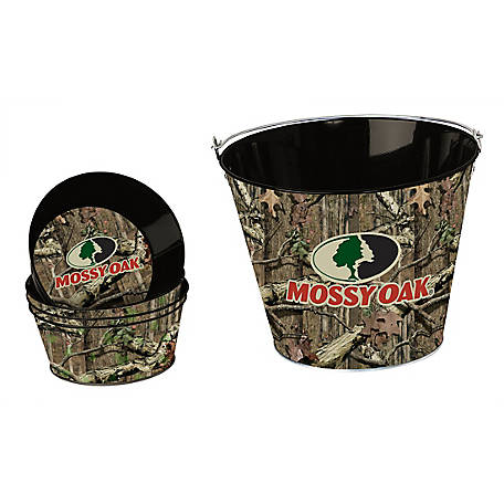 Mossy Oak Snack Bucket Set, MO-68508