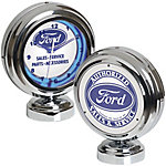 Ford Table Top Neon Clock, FRD-46600