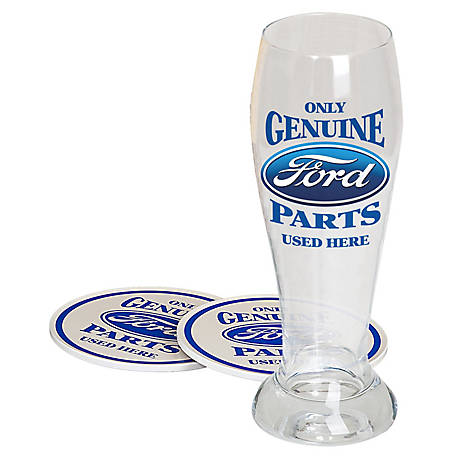 Ford Genuine Parts Pilsner Gift Set, FRD-48701