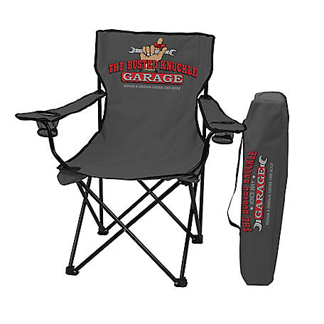 The Busted Knuckle Garage Folding Chair, BKG-70065