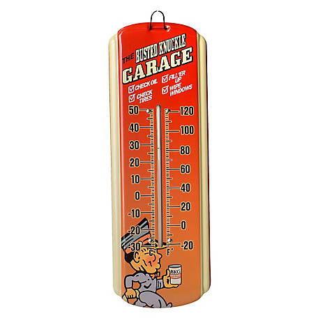 The Busted Knuckle Garage Mini Thermometer BKG-70092
