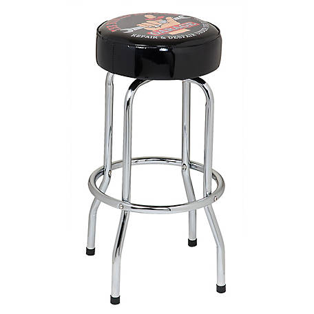 The Busted Knuckle Garage Bar Stool, BKG-71200