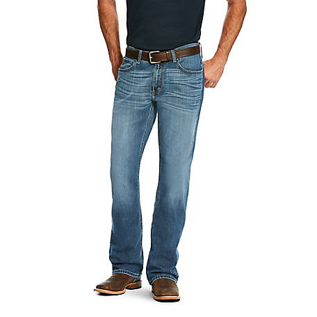 Ariat Men's M7 Straight Legacy Boot Jean Drifter 10022785