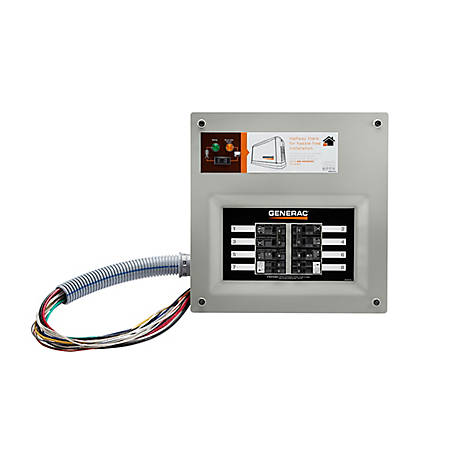 Generac 9854 - HomeLink 50 Amp Manual Transfer Switch, 9854