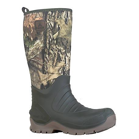 Kamik Men's BushmanV Vibram Mossy Oak Country Insulated Boot