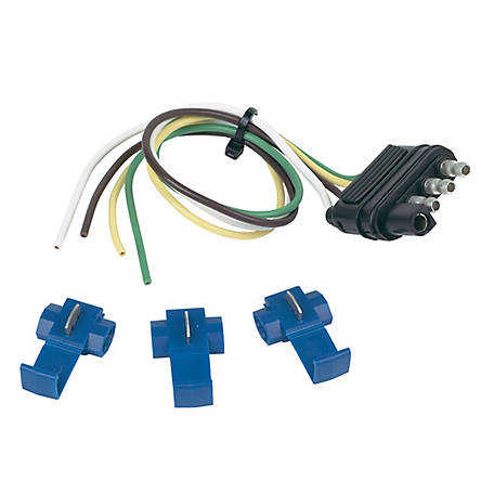 Hopkins Towing Solutions 4 Wire Flat, 12 in. with Splices, 48105