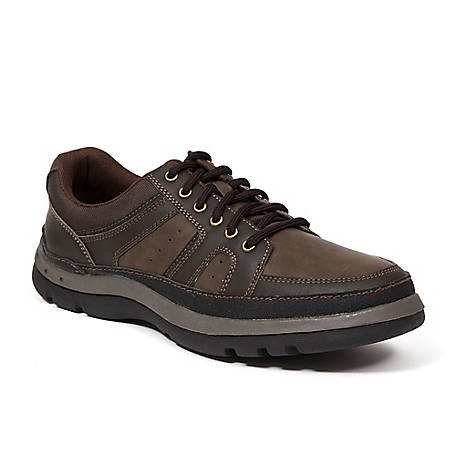 Deer Stags Men's Shae Oxford, SHAE-OILV-BRN-M-8