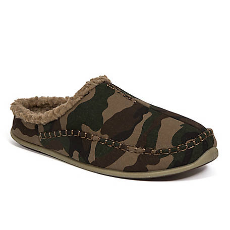 Deer Stags Men's Nordic Clog Slipper Camouflage, NORDIC-CNVS