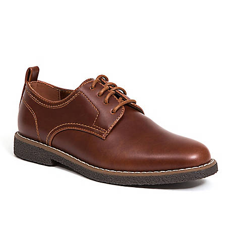 Deer Stags Boy's Zander Oxford, ZANDER-HTEC