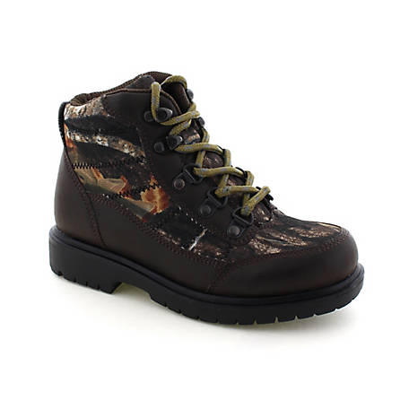 Deer Stags Boys Hunt Hiker Boot Camouflage, HUNT-HTEC