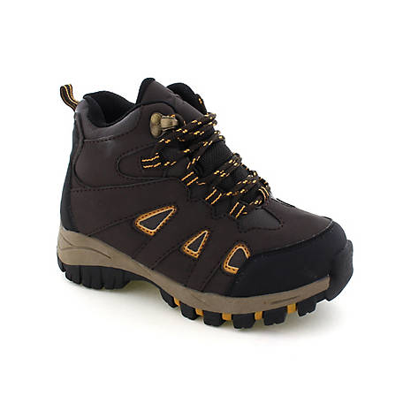 Deer Stags Boys' Drew Hiker Boot, DREW-HTEC-BRN-M-11