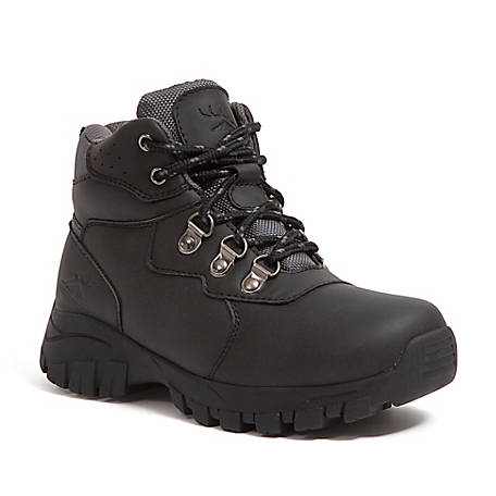 Deer Stags Boys' Gorp Hiker Boot, GORP-HTEC-BLK-M-11