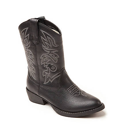 Deer Stags Boys'  Ranch Cowboy Boot, RANCH-TMHT